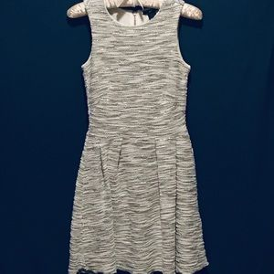 H&M 🎉 Party Dress • Silver and White Sleeveless